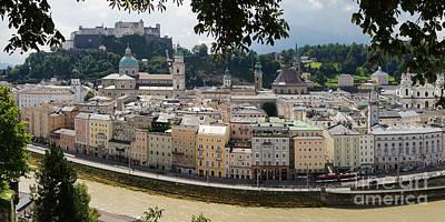 Photograph - Salzburg Panorama 7 by Rudi Prott