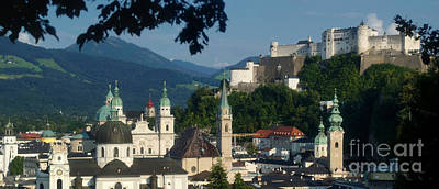 Photograph - Salzburg Panorama 9 by Rudi Prott