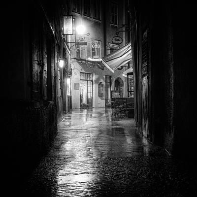Bw Photograph - Salzburg by Tanja Ghirardini