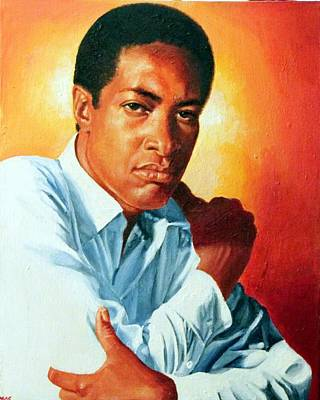 Painting - Sam Cooke by Michael Swanson