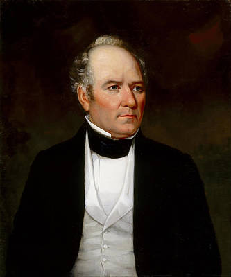 Sam Houston Painting - Sam Houston by Mountain Dreams