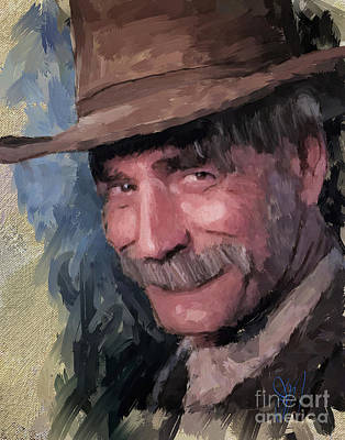 Painting - Sam by Jack Milchanowski