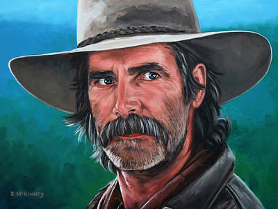 Mountain Man Painting - Sam by Rick McKinney