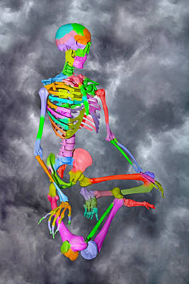 Physiology Digital Art - Sam Shows His Colors by Betsy Knapp