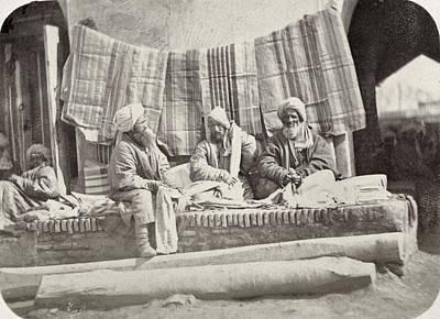 Photograph - Samarkand Turban Vendor by Granger