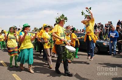 Photograph - Sambalanco Band At Jack In The Green by David Fowler