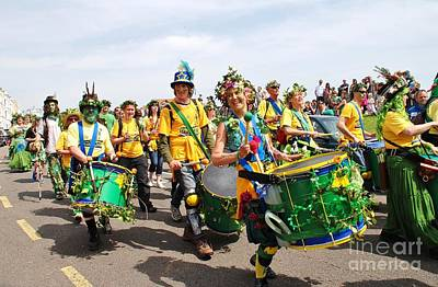 Photograph - Sambalanco Samba Band Hastings by David Fowler