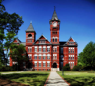 Samford Hall On The Campus Of Auburn University Art Print by Mountain Dreams