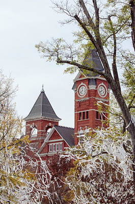 Samford Hall Vii Art Print by Victoria Lawrence