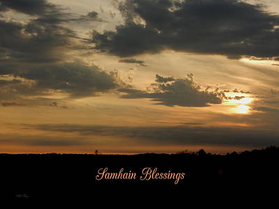 Photograph - Samhain Blessings by Wild Thing