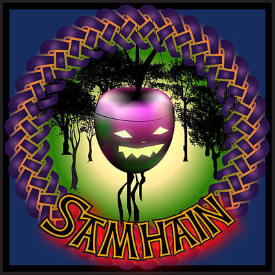 Digital Art - Samhain Festival by Ireland Calling
