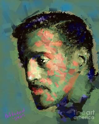 Sammy Davis Jr. Art Print by Arne Hansen