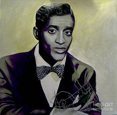 Painting - Sammy Davis Jr. by Chelle Brantley