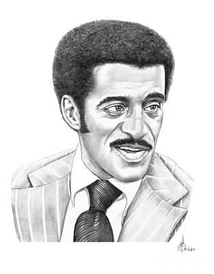 Sammy Davis Jr Art Print by Murphy Elliott