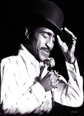 Sammy Davis Jr. Performing Mr. Bojangles Art Print