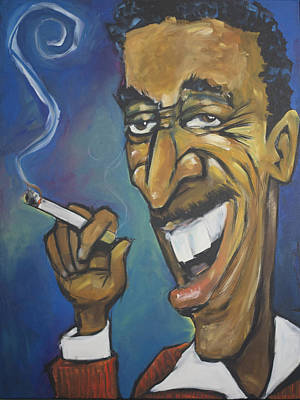 Martini Royalty-Free and Rights-Managed Images - Sammy Davis Jr by Tim Nyberg