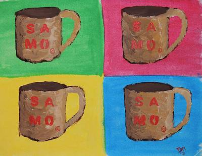 Painting - Samo Mug by Frank Middleton