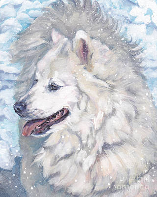 Painting - Samoyed by Lee Ann Shepard