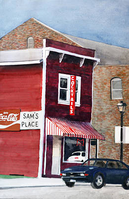 Painting - Sam's Place by Rick Mosher