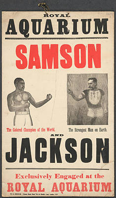 Samson V Jackson Art Print by British Library