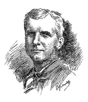 Hamptons Drawing - Samuel Chapman Armstrong (1839-1893) by Granger