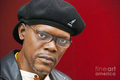 Photograph - Samuel L. Jackson by Juli Scalzi