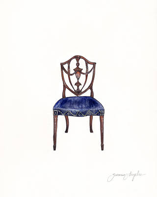 Painting - Samuel Mcintire Chair by Jazmin Angeles