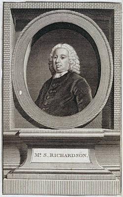 Samuel Richardson Art Print by British Library