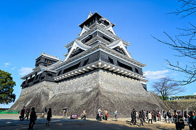 Photograph - Samurai Defense - Kumamoto Castle - Japan by David Hill