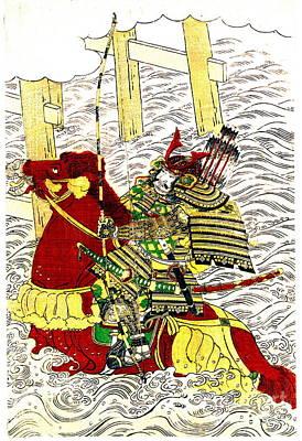 1772 Photograph - Samurai Sasaki Takatsuna 1772 by Padre Art
