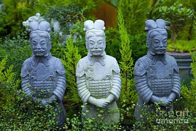 Samuri Statues Original by Graham Foulkes