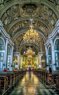 San Agustin Church  Art Print