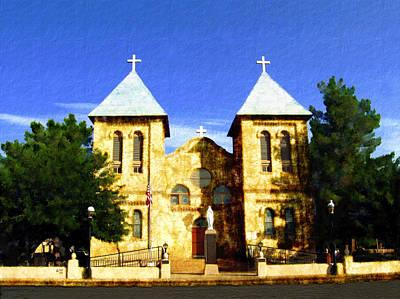 Photograph - San Albino Church by Kurt Van Wagner