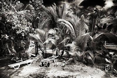 Photograph - San Andres Beach Scene by John Rizzuto