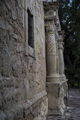 Photograph - San Antonio Alamo Entrance  by John McGraw