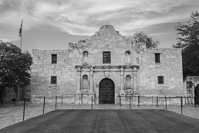 Photograph - San Antonio Alamo  by John McGraw