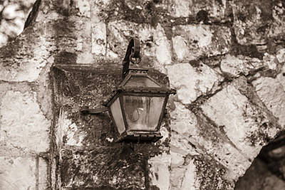 Photograph - San Antonio Alamo Light by John McGraw