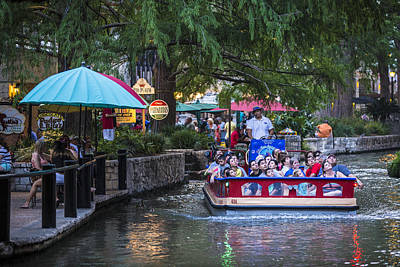 Photograph - San Antonio Boat Tour  by John McGraw