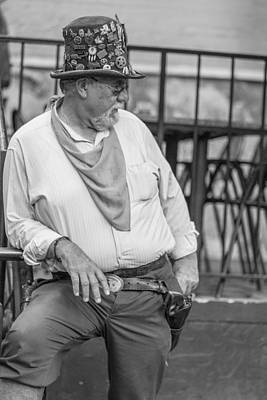 Photograph - San Antonio Bouncer by John McGraw