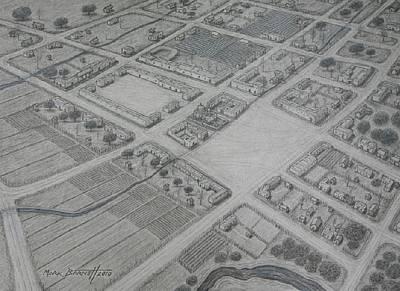 The Main Drawing - San Antonio De Bexar by Mark Barnett