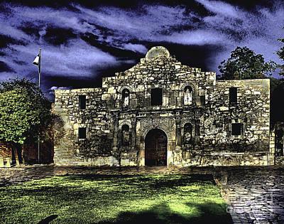 San Antonio E Art Print