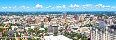Photograph - San Antonio From The Tower II by C H Apperson