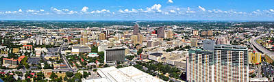 Photograph - San Antonio From The Tower IIi by C H Apperson