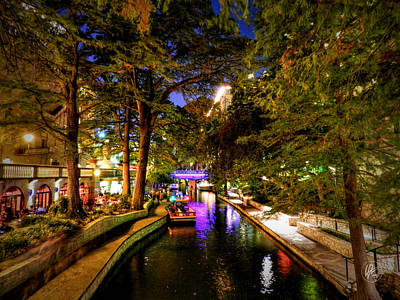 Riverwalk Photograph - San Antonio Hdr 001 by Lance Vaughn