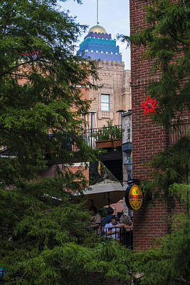 Photograph - San Antonio Looking Over The River-walk.  by John McGraw