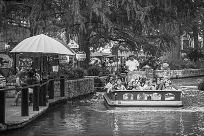 Photograph - San Antonio River Boat  by John McGraw