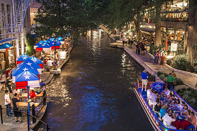Photograph - San Antonio River  by John McGraw