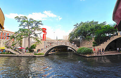 San Antonio River Walk Art Print