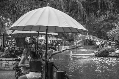 Photograph - San Antonio River Walk by John McGraw