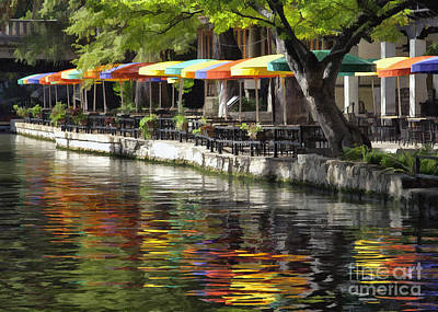 Photograph - San Antonio River Walk by Sharon Foster